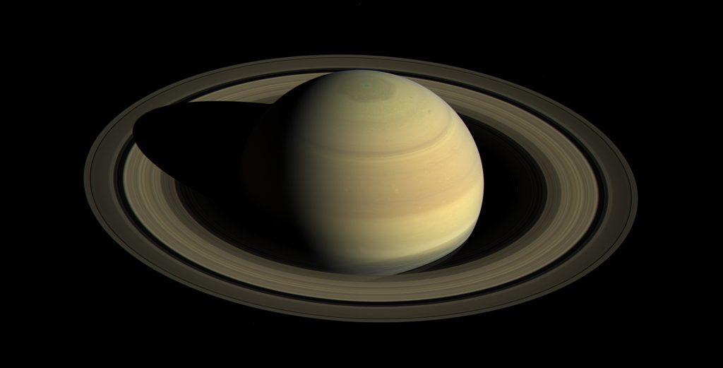 Enceladus: Seine Bahn um Saturn