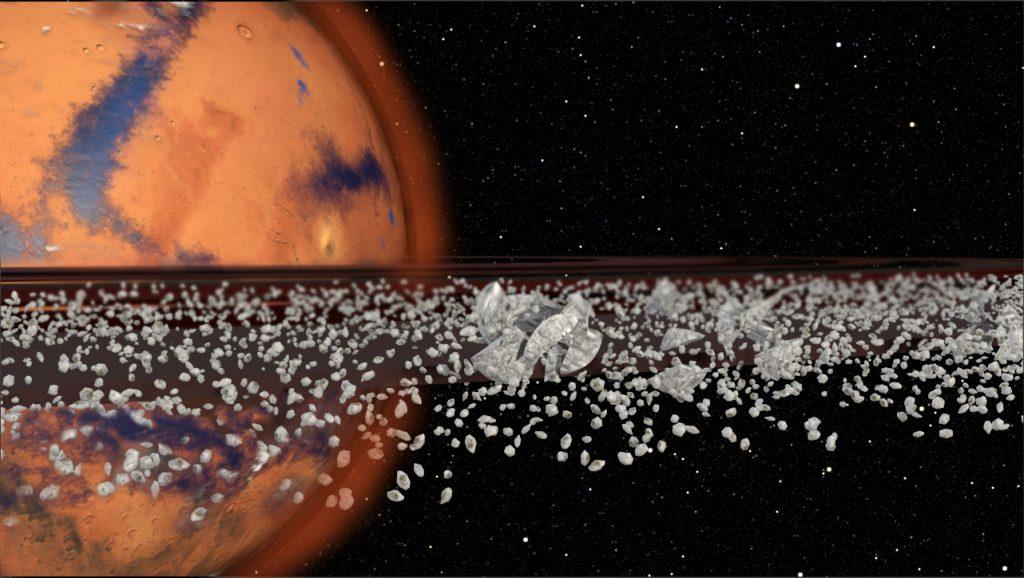 Hat der Mars Ringe? Heute nicht, gestern vielleicht, morgen sicher