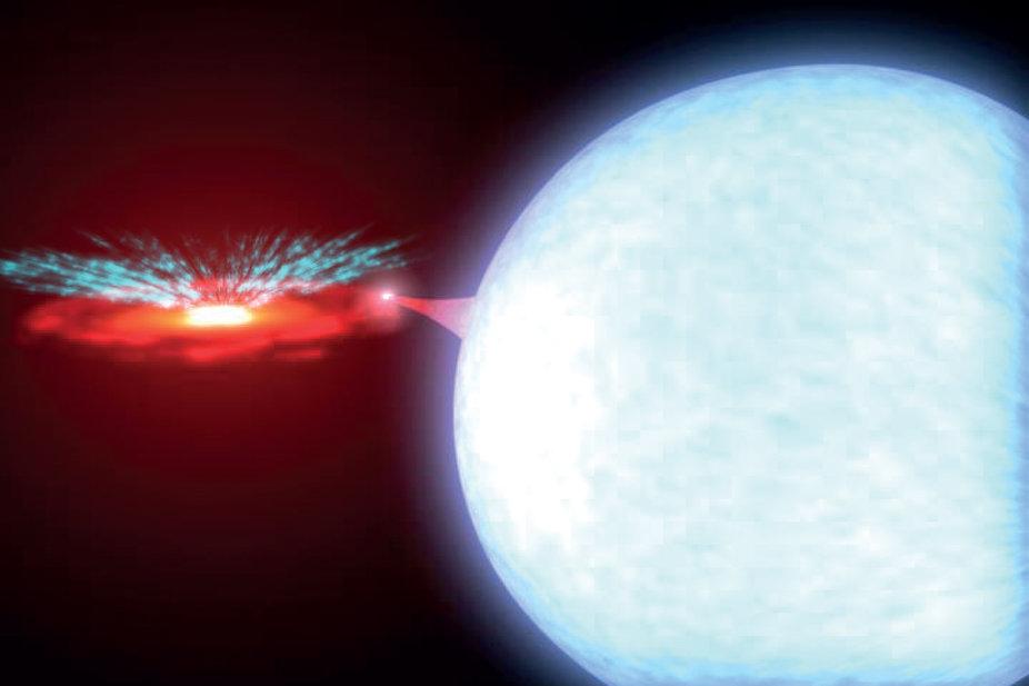 Warum Schwarze Löcher kosmischen Wind ausstoßen