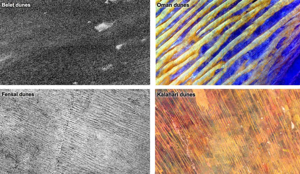 Warum der Sand auf dem Saturnmond Titan geladen sein könnte