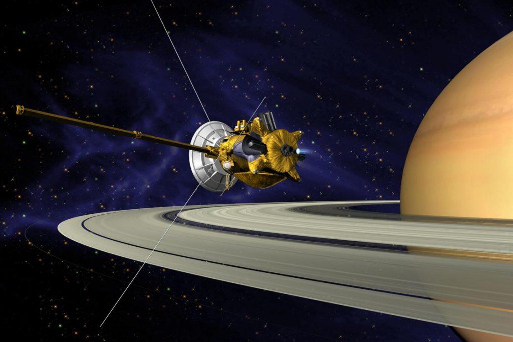 Raumsonde Cassini: spannende Forschung bis zum Schluss
