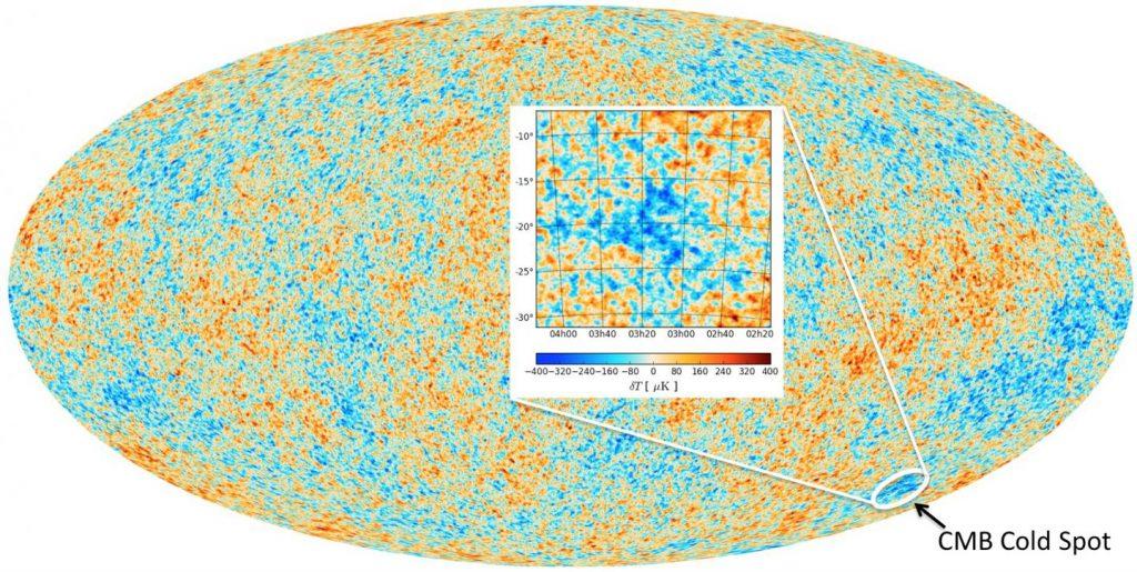 Der kalte Fleck – Überbleibsel einer Kollision zweier Universen?