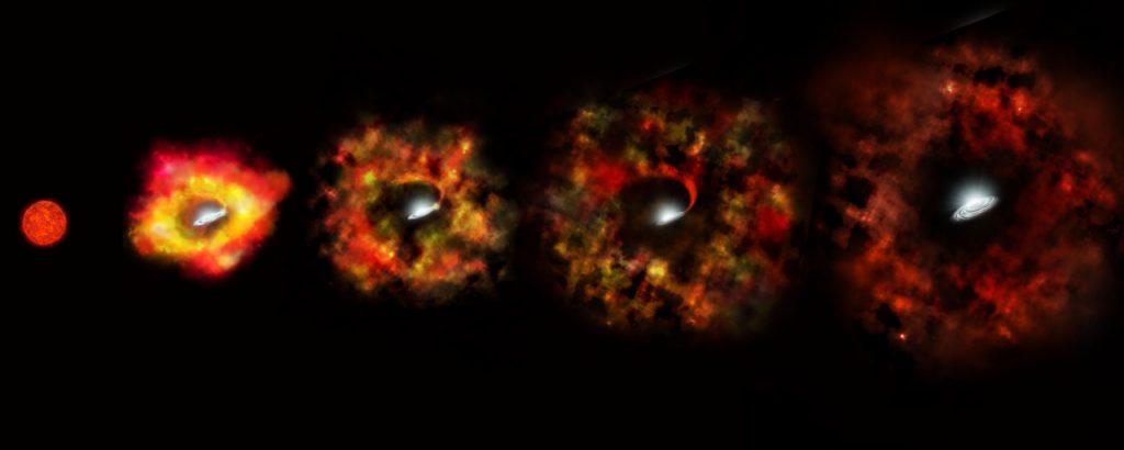 Pech gehabt: Riesenstern wird ohne Supernova zum Schwarzen Loch