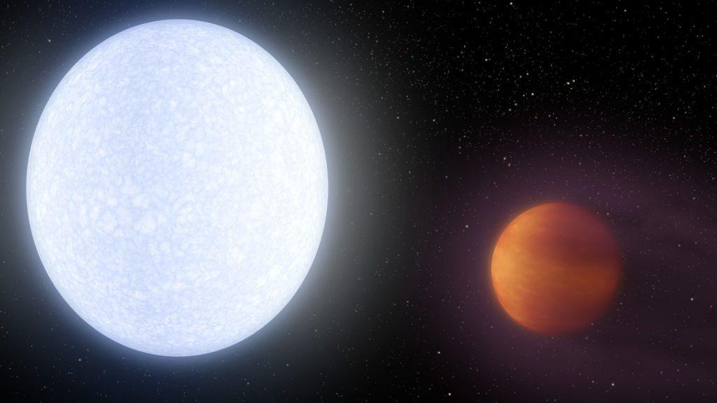 Rekord: der bisher heißeste Exoplanet