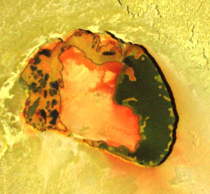 Lava-Wellen auf dem Jupitermond Io