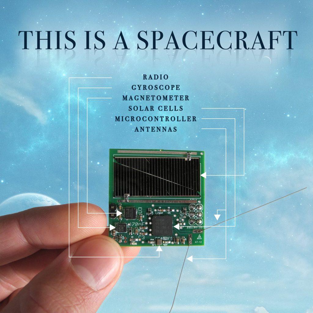 Erste Satelliten des Breakthrough-Starshot-Programms im All