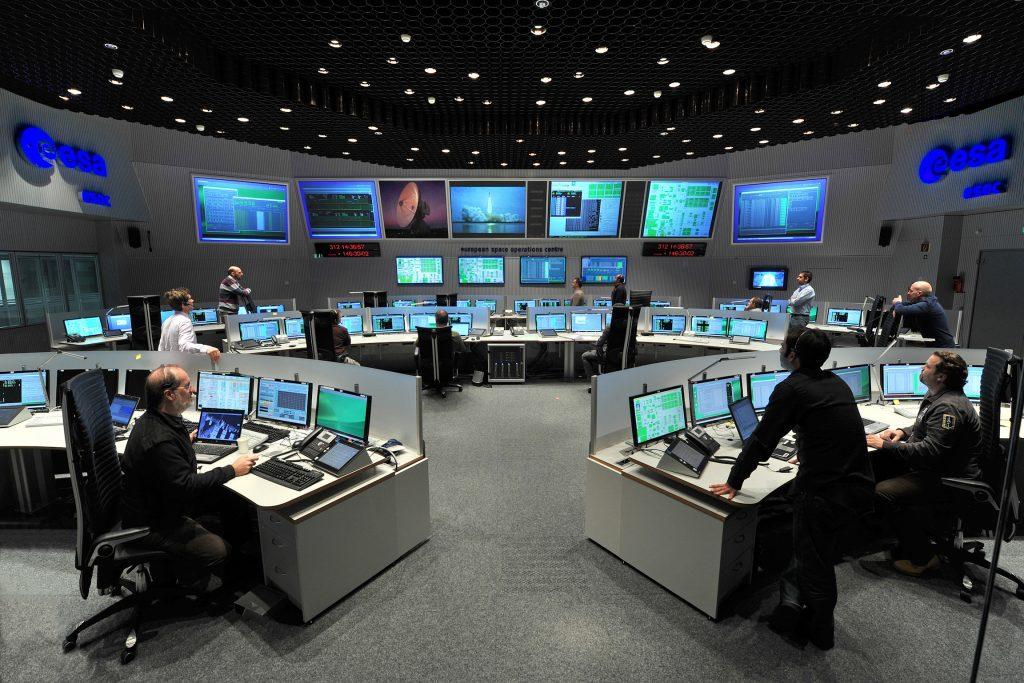 Wo Raumschiffe gesteuert werden: Das ESOC in Darmstadt öffnet seine Türen
