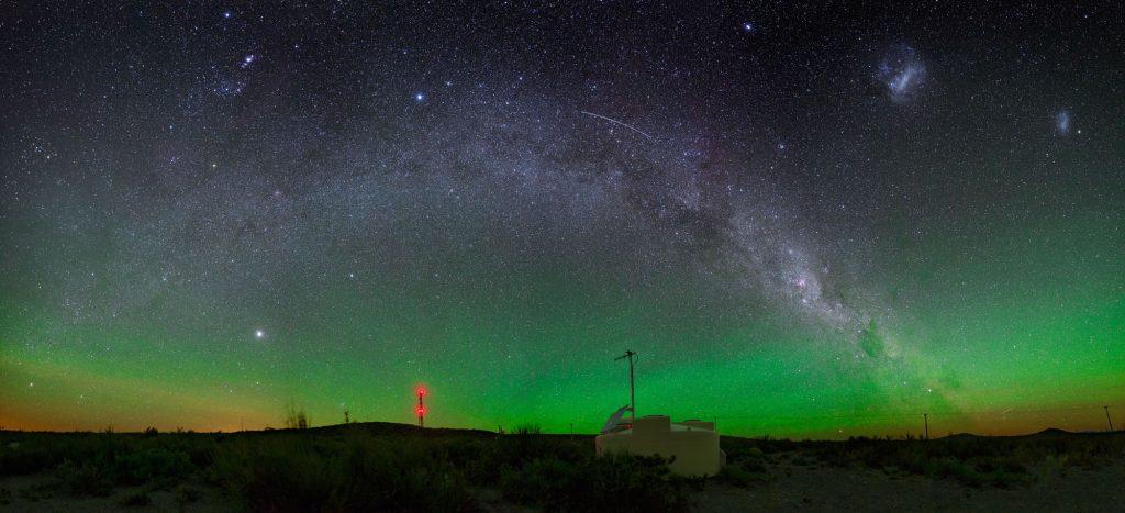 Ultraschnelle kosmische Teilchen kommen aus fernen Galaxien