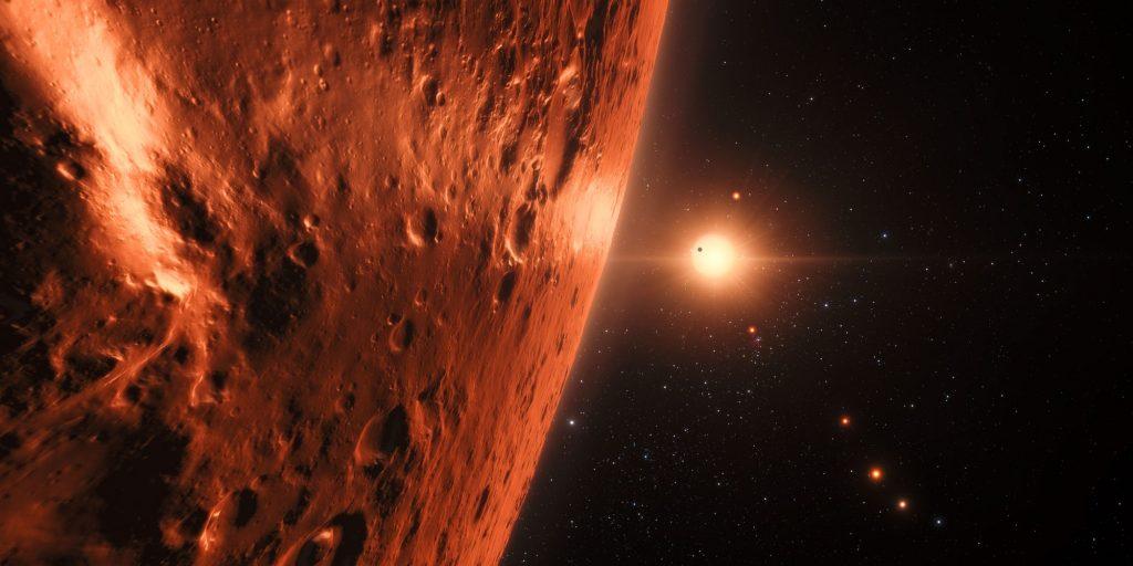 Äußere Planeten von Trappist-1 könnten Wasser besitzen
