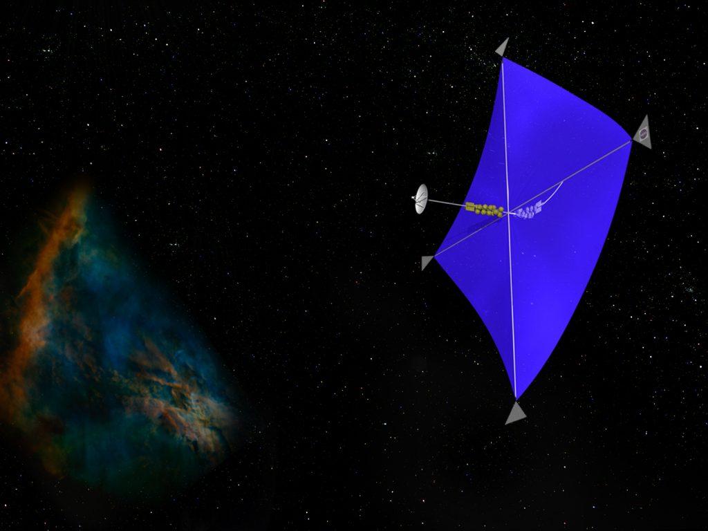 Wie man ein Magnetsegel bei der Ankunft an nahen Sternen zum Bremsen nutzt