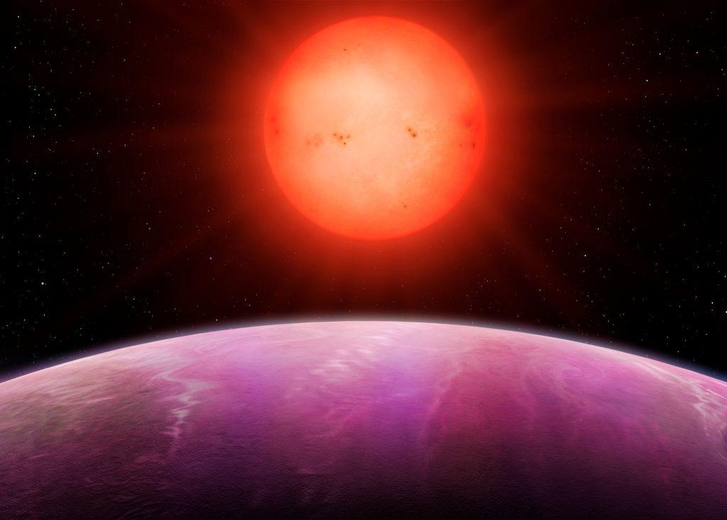 Gasgigant umkreist Roten Zwerg – Forscher überrascht
