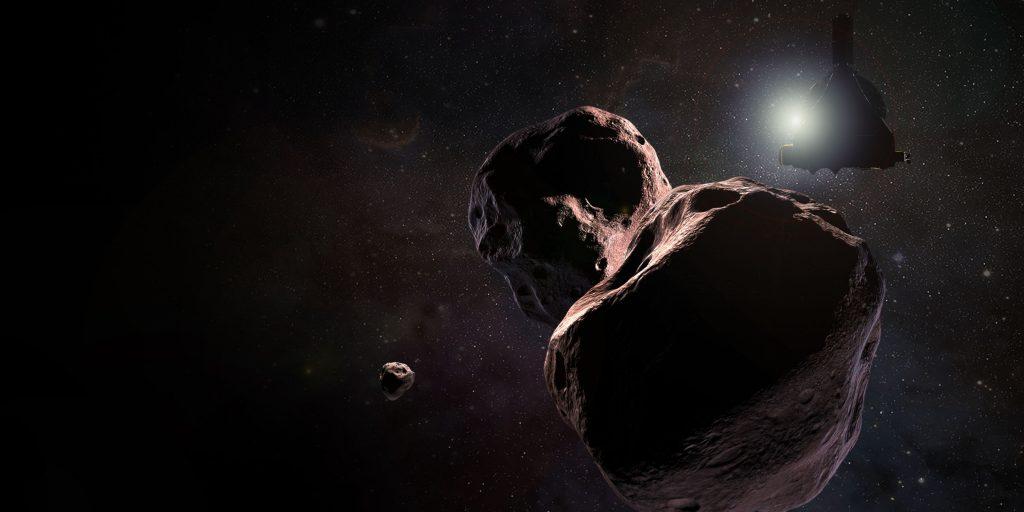 Binärobjekt mit Mond? Neues vom nächsten Ziel der New-Horizons-Sonde