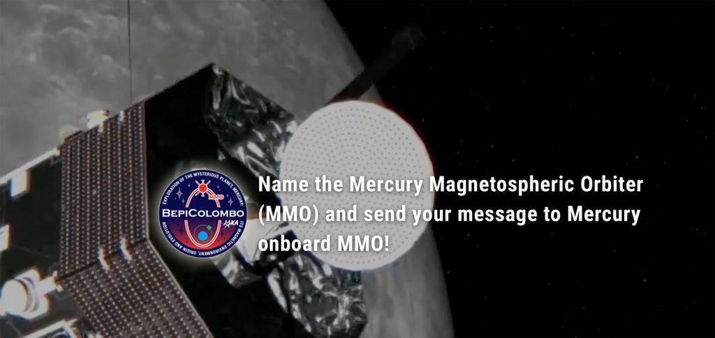 Schicken Sie Ihren Namen oder Ihre Botschaft mit BepiColombo zum Merkur