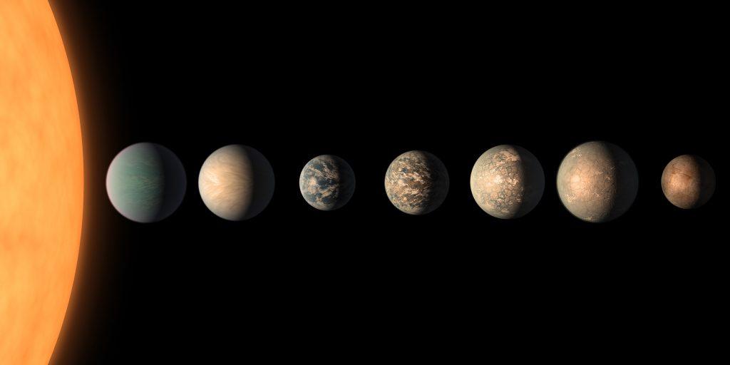 Trappist-1: Wenn Planeten zu viel Wasser besitzen