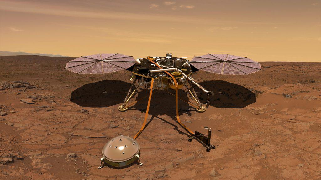 Wie die Insight-Sonde das Innere des Mars erforscht