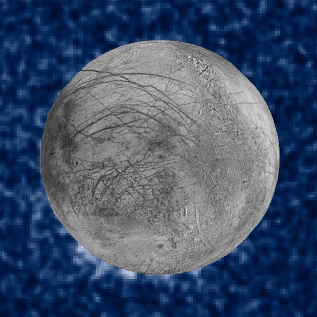 Eis-Geysire auch auf dem Jupitermond Europa