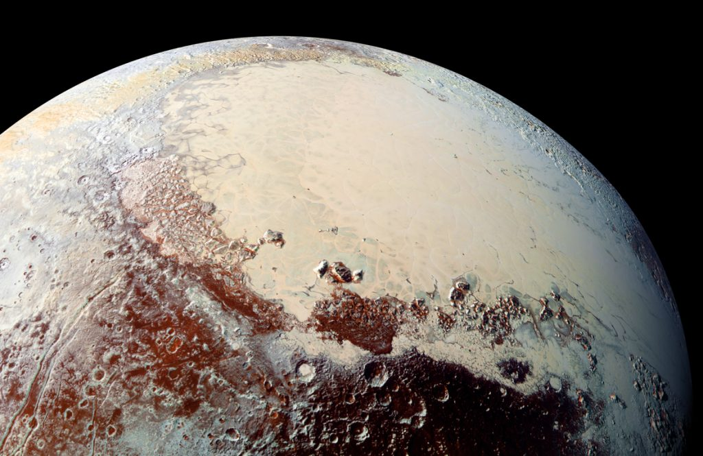 Zwergplanet Pluto – ein gigantischer Komet?
