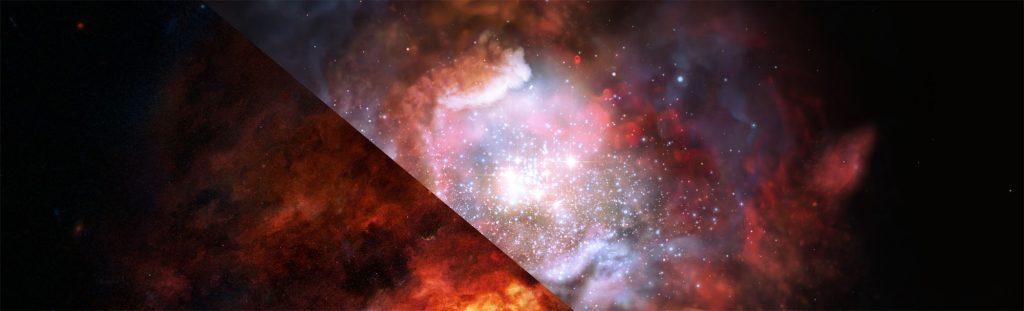 Schleier über Sternbildungsgebieten gelüftet: Mehr Schwergewichte als gedacht