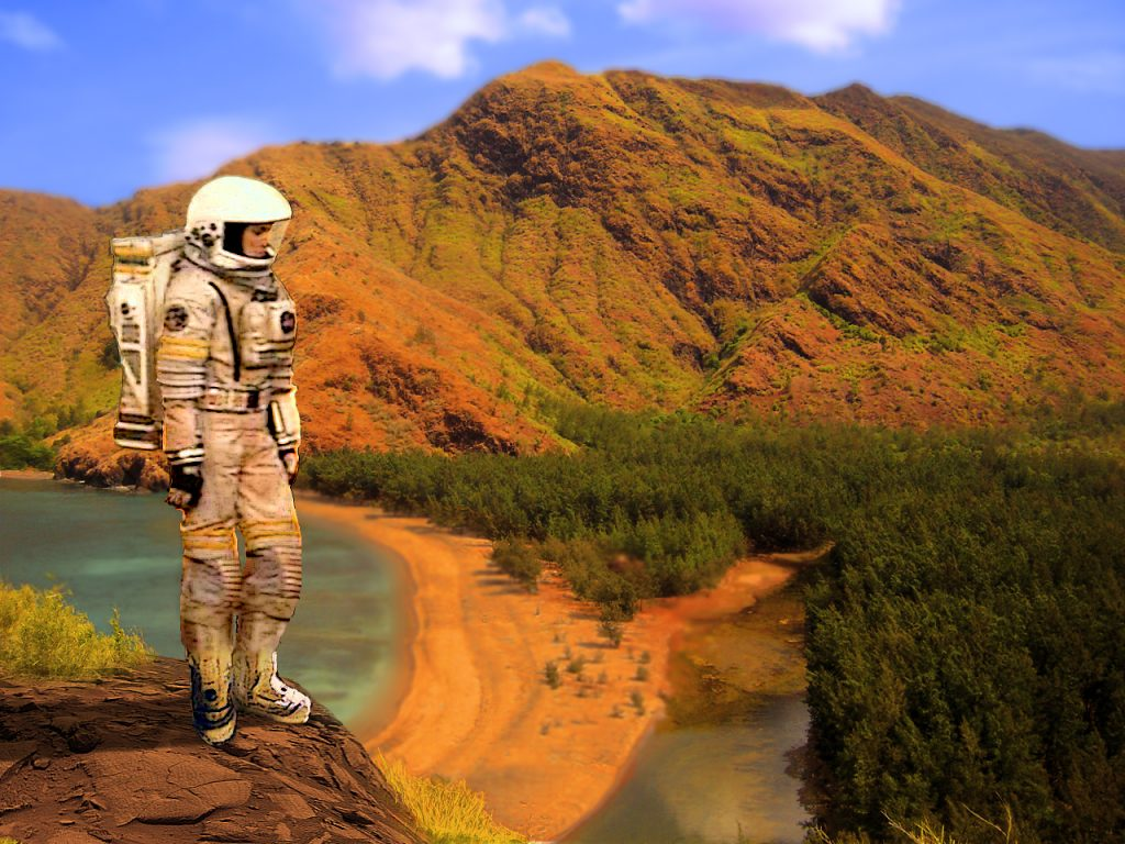 Den Mars in eine zweite Erde verwandeln – ein simpler Trick