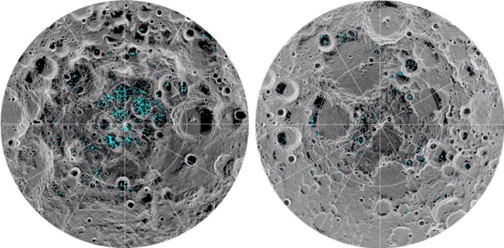 Erstmals bestätigt: Es gibt Eis auf der Mond-Oberfläche