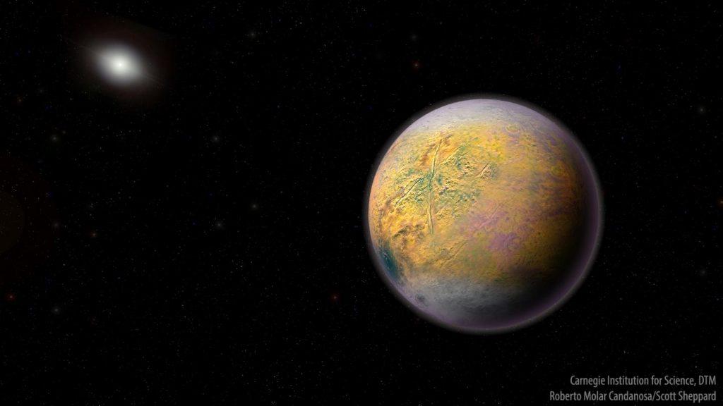 War nix mit Planet X, aber 2015 TG387 ist auch ganz schön weit weg