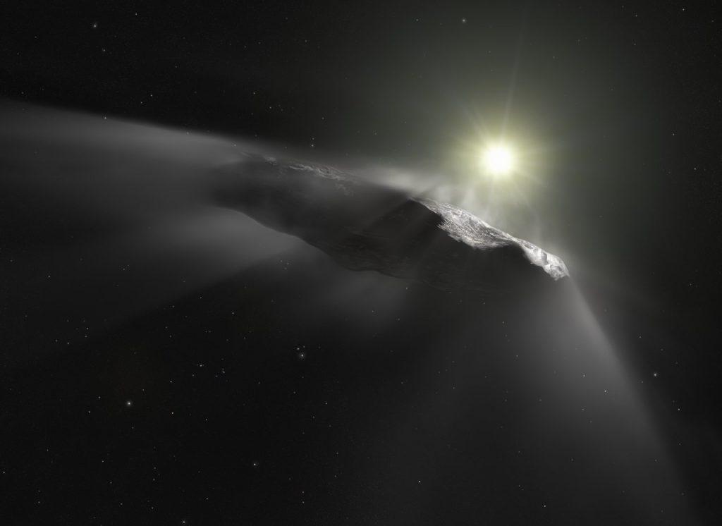 Woher kam der extrasolare Komet 'Oumuamua?