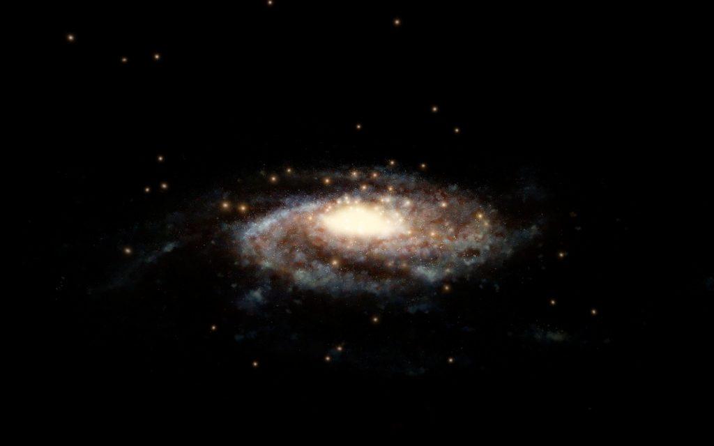 Wie schwer ist die Milchstraße?