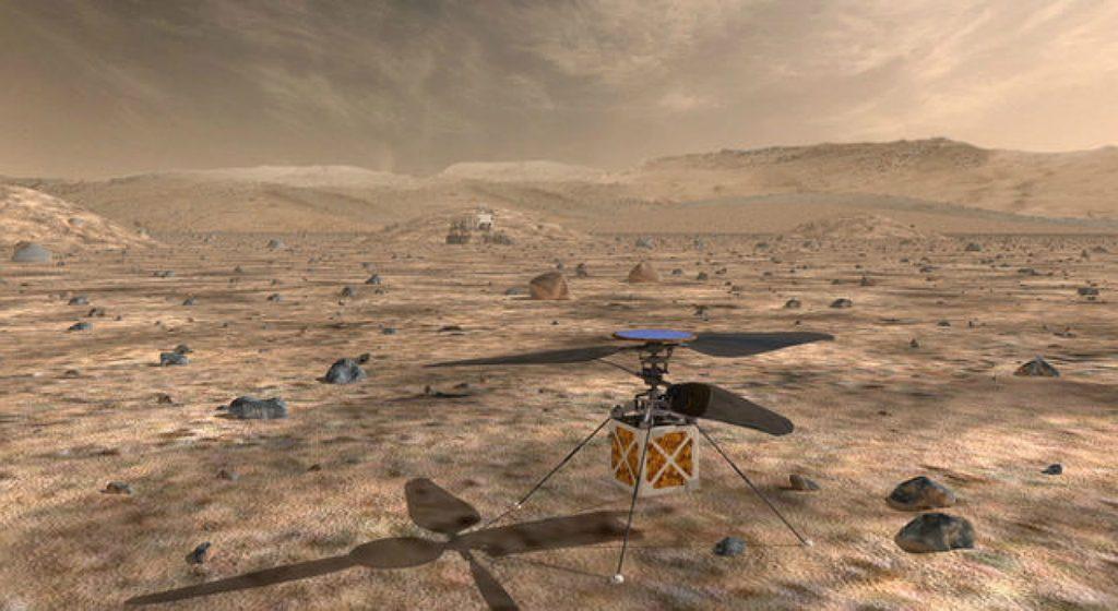 Kann man auf dem Mars fliegen?
