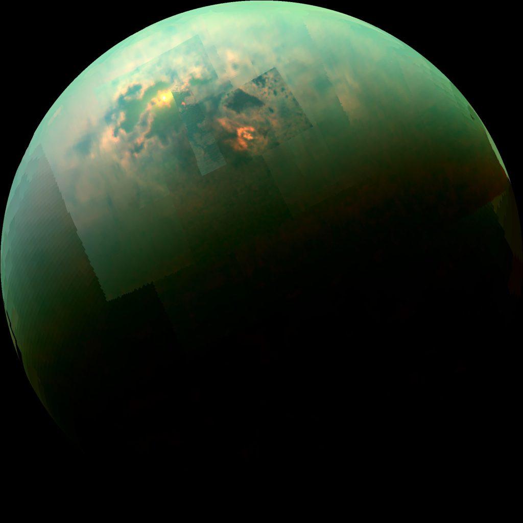 Karstseen auf Titan