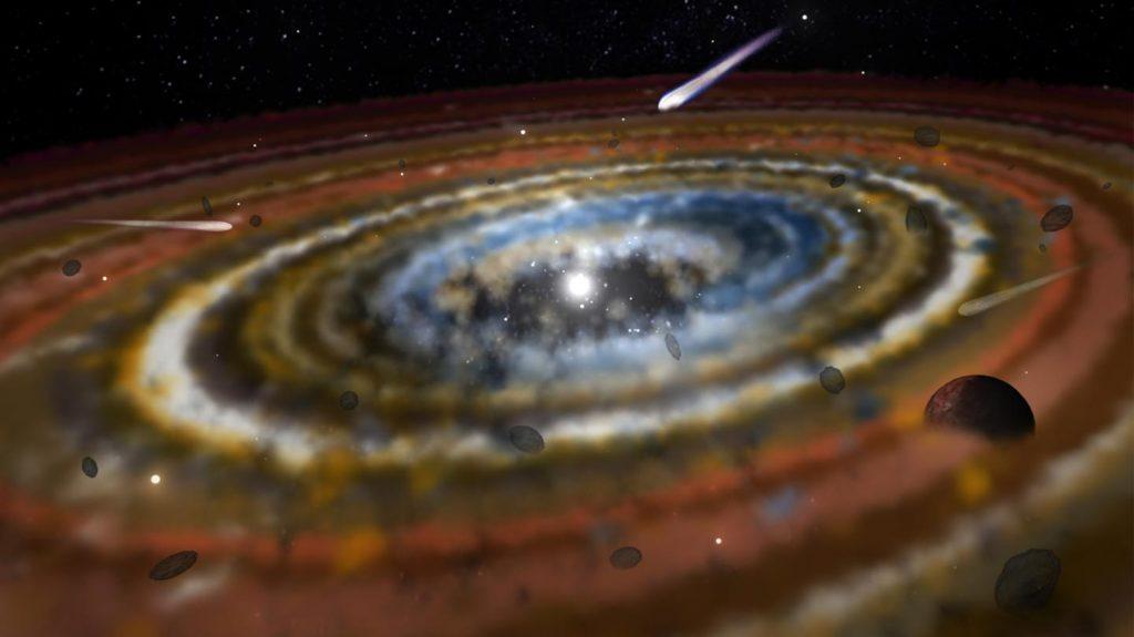 Drei Exokometen im Orbit von Beta Pictoris entdeckt