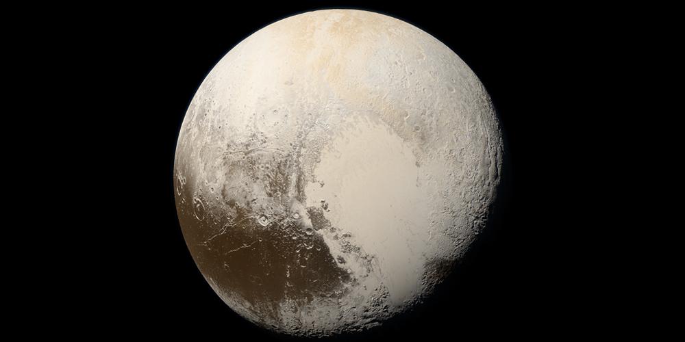 Gashydratschicht hält Pluto-Ozean warm