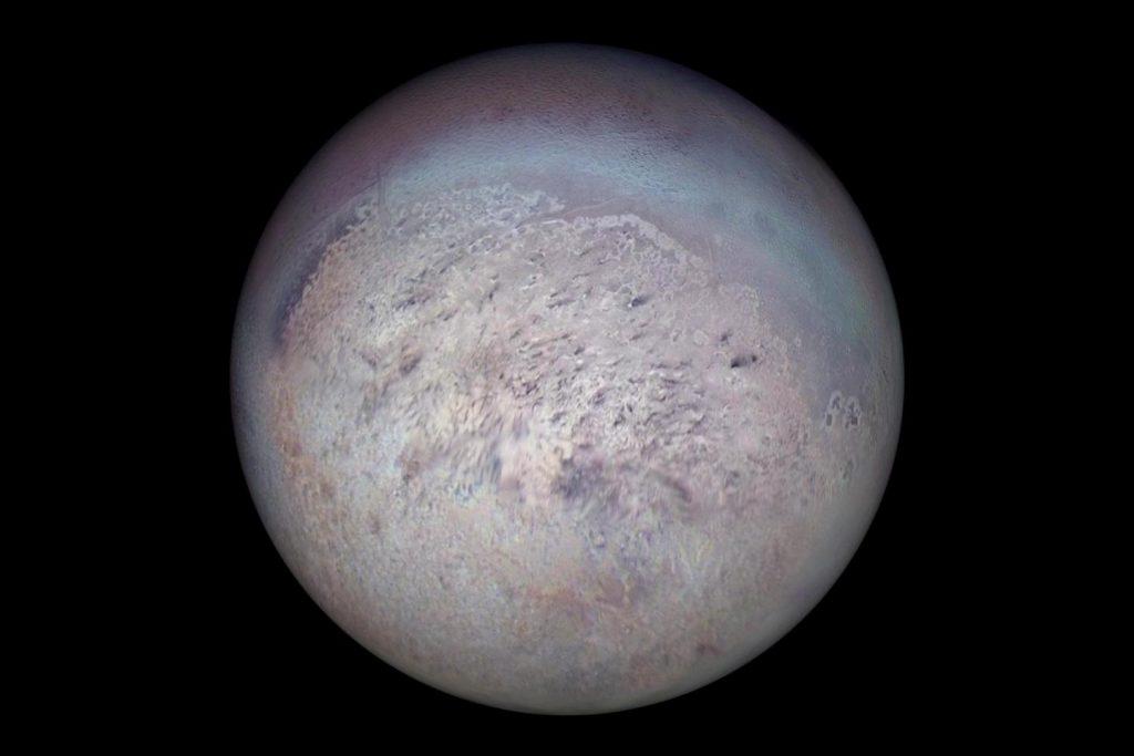 Woher die Geysire auf dem Neptun-Mond Triton kommen