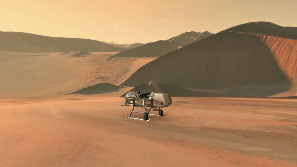 Dragonfly-Mission zum Saturnmond Titan soll 2026 starten