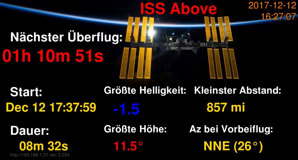ISS Above: Ihr direkter Draht zur Internationalen Raumstation