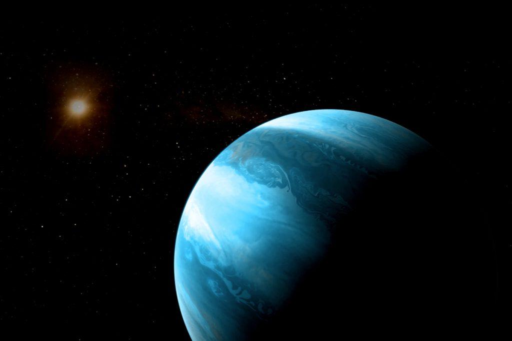 Ein Planet, den es nicht geben dürfte
