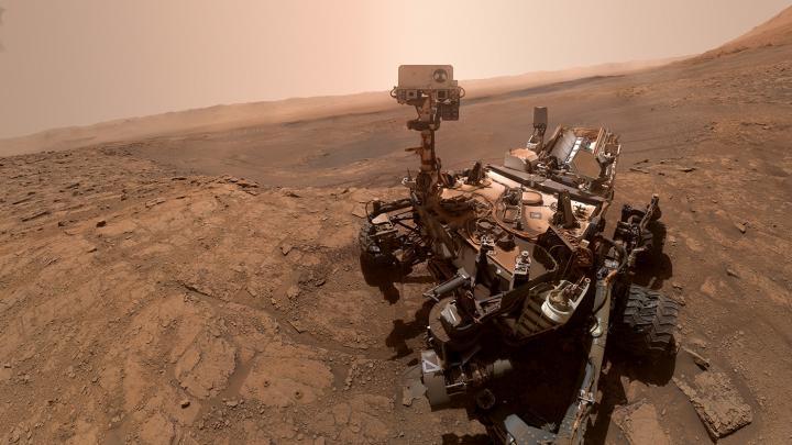 Das Wasser auf dem Mars war salzig wie die Erd-Ozeane