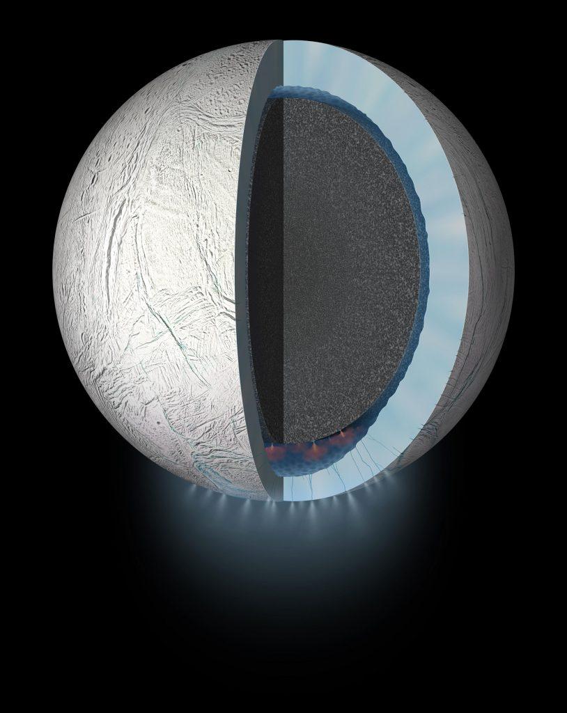 Ganz schön was los auf dem Ozeanboden von Enceladus