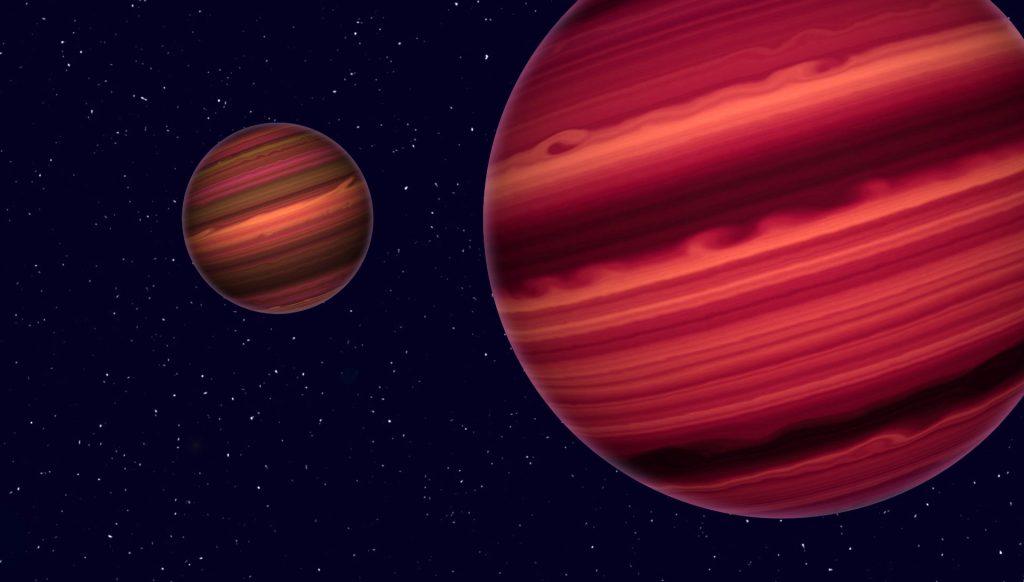Dreifachsystem aus Braunen Zwergen entdeckt