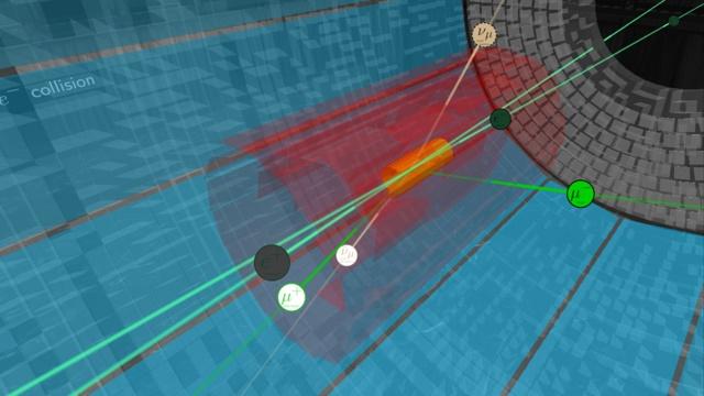 Dunkle Materie: Dem Z'-Boson auf der Spur