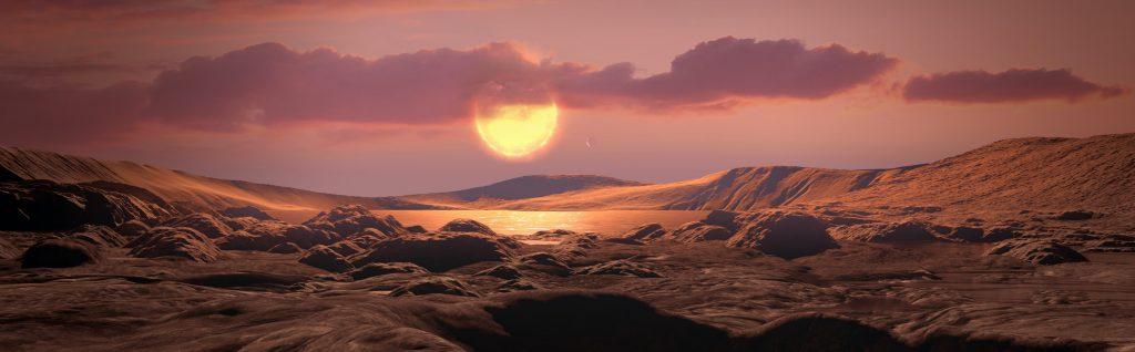 Kepler-1649c: ein Erd-Zwilling mit aufbrausendem Mutterstern