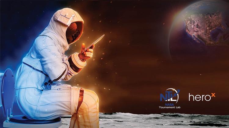 Auch auf dem Mond muss der Mensch mal wohin …
