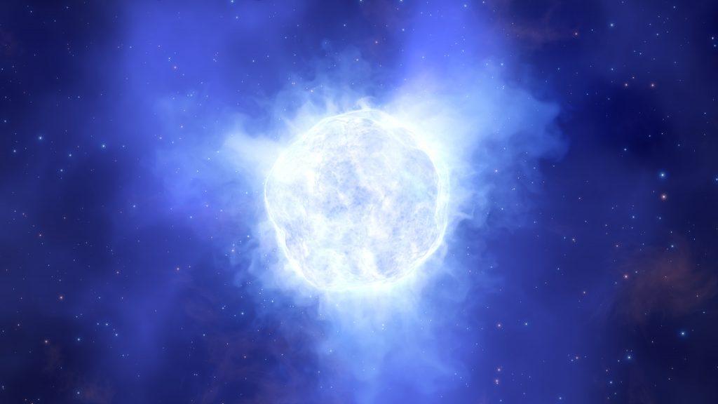 Wie ein Stern einfach verschwand