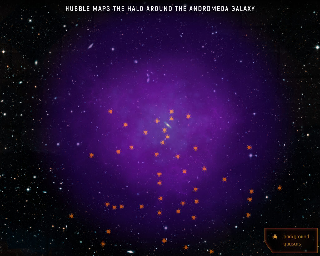 Milchstraße vs. Andromeda: Die Kollision hat schon begonnen