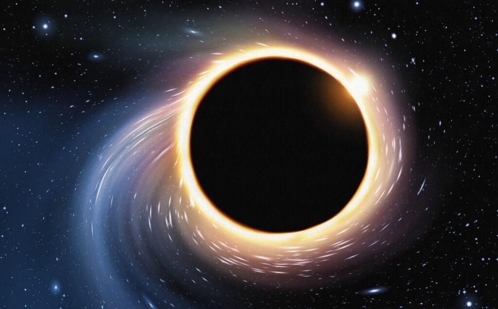 Schwarze Löcher verraten sich im Röntgenspektrum