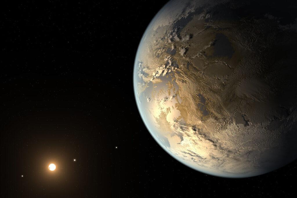 Astronomen suchen den Super-Planeten