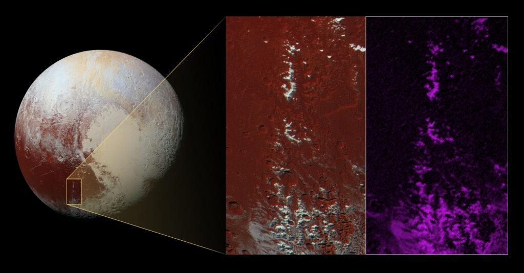 Warum es auf Plutos Bergen schneit