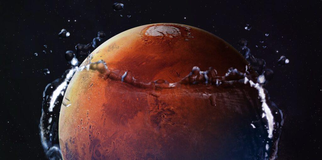 Überschwemmungen auf dem Mars