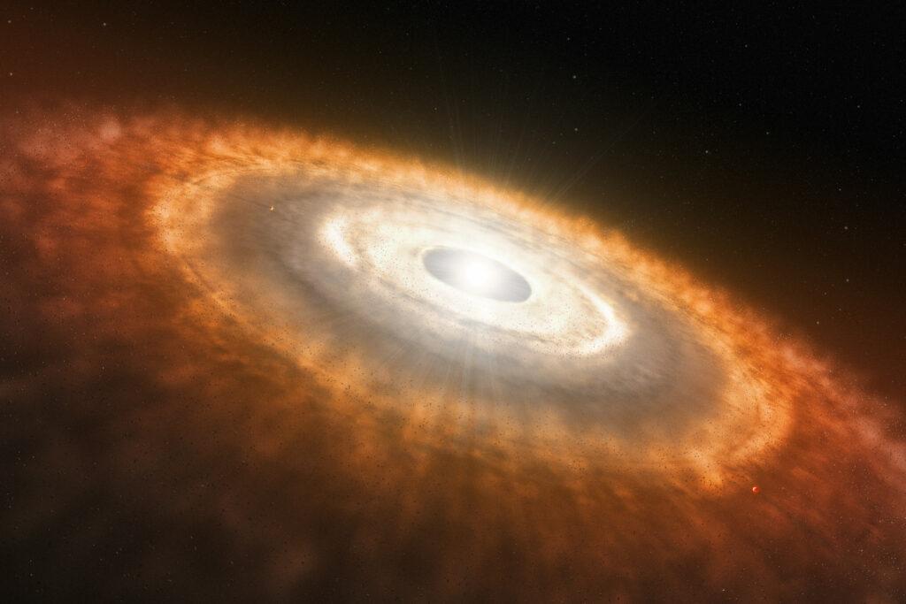 Das Sonnensystem – eine Sturzgeburt