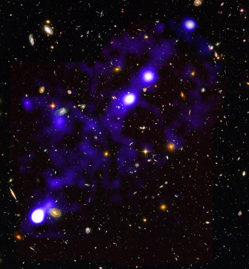 Erstmals Grundstruktur des Kosmos abgebildet
