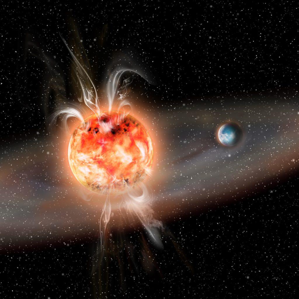 Superflares sind vielleicht gar nicht so gefährlich für Planeten